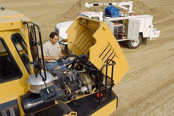 Description de l'emploi de mécanicien d'équipement lourd