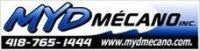 Emplois chez MYD Mecano Inc